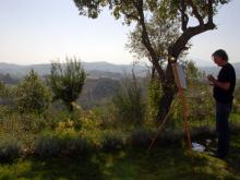 SCHILDERVAKANTIE Italië Le Marche okt 2014 cursisten ah werk 17
