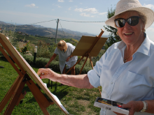 SCHILDERVAKANTIE Italië Le Marche sept 2015 cursisten ah werk 13