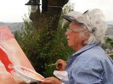 SCHILDERVAKANTIE Italië Le Marche sept 2015 cursisten ah werk 23