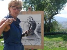 SCHILDERVAKANTIE Italië Le Marche sept 2015 cursisten ah werk 4