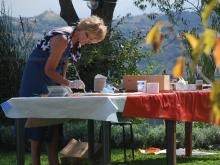 SCHILDERVAKANTIE Italië Le Marche sept 2015 cursisten ah werk 7